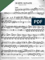 Sonata in G Beethoven