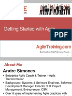 Patterns for Getting Started With Agile
