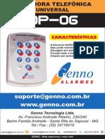 138 Manual Discadora DP 06