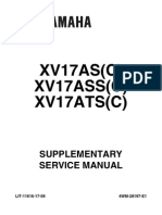 Yamaha roadstar 1700 04 Supplement