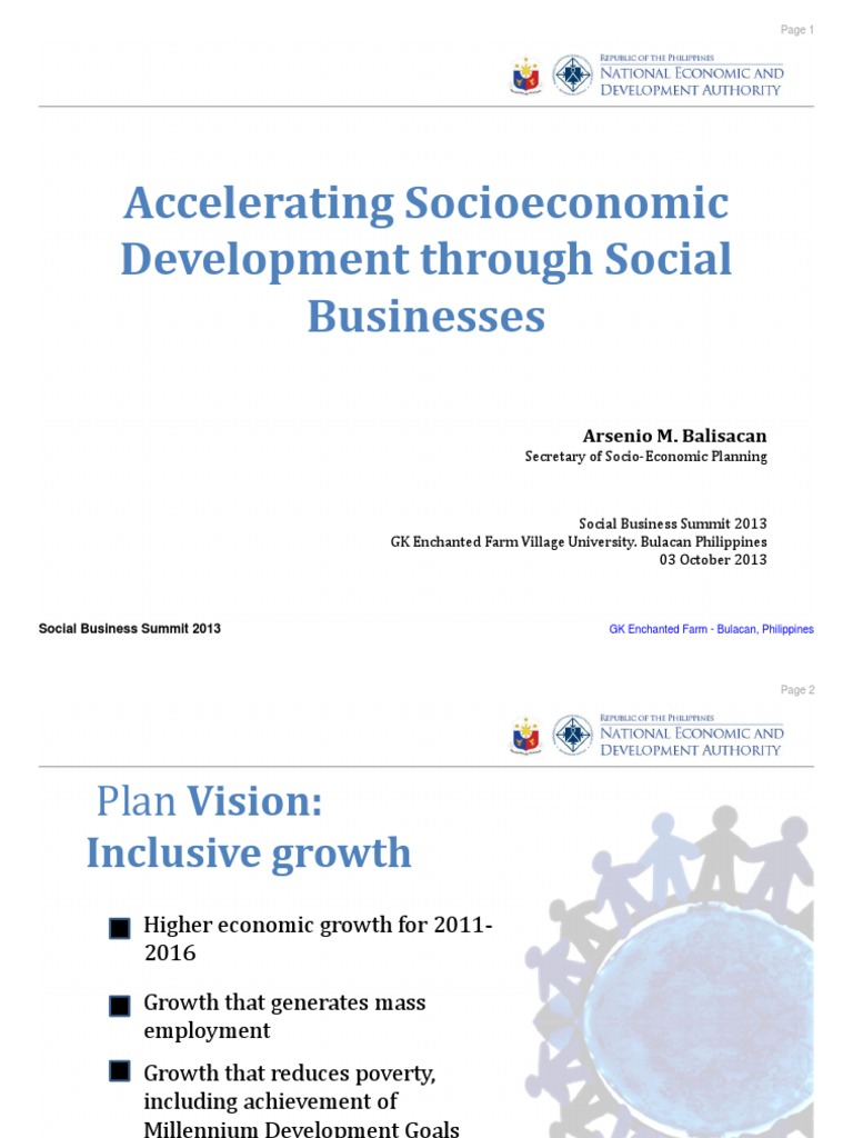 planning for inclusive growth