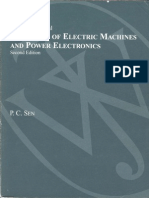 Principles of Electrical Machines and Power Electronics Solution Manual p.c.sen