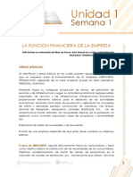 LA FUNCIÓN FINANCIERA DE LA EMPRESA