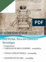 trabalho de ética em ciêencia e tecnologia mais atualizado