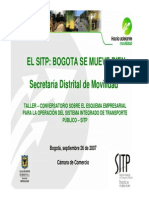 2004 PresentacionSITP Taller Conversatorio 2