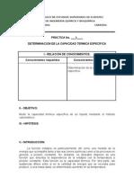 detrminacion termica