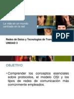 Redes de Datos y Tecnologias de Transporte Unidad 3