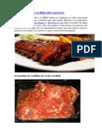 Costillitas de Cerdo a La BBQ