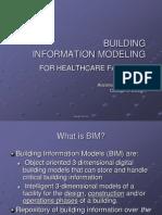 BIM for Healthcare Design