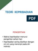 TEORI  KEPRIBADIAN