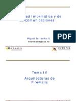 Arquitectura de Firewalls