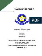 OPTHALMIC RECORD Mature Senilis Katarak-1