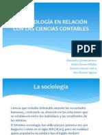 La sociología en relación con las ciencias contables
