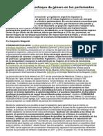 Comunicarigualdad.com.Ar-Incorporacin Del Enfoque de Gnero en Los Parlamentos