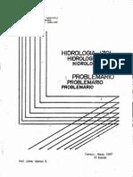 1987. Problemario de hidrología. Jaime Ventura