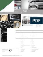 Audi A8 Catalogue (Germany, 2014)