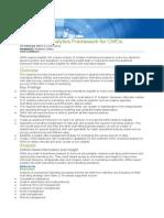 A Marketing Analytics Framework for CMOs