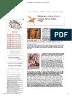 Mitologia Greca e Latina, Semele, Servio Tullio, Sfinge