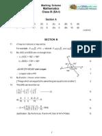 09 Sample Paper Term1 Maths Ms