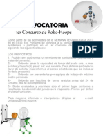 Convocatoria Robo Hoops