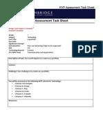 richie s assessment task sheet