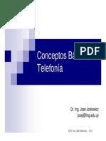 Conceptos Basicos de Telefonia (Presentacion)