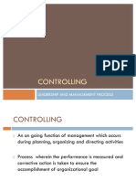Controlling Nursing Management
