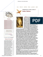Mitologia Greca e Latina, Medea, Medusa