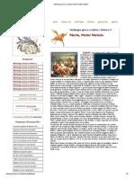 Mitologia Greca e Latina, Marte, Mater Matuta