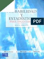 probabilidad y estadística 6 ed - walpole (esp)