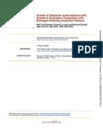 Crecimiento de Geobacter Con Anaerobicos