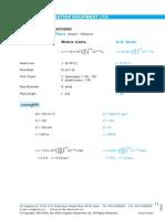 Hydraulic Equations