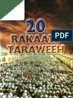 20 Rakat Taraweeh