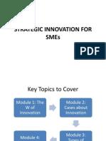 Strategic Innovation for Smes
