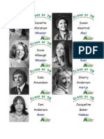 Class of 79 Name Tags