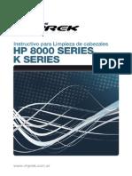 Instructivo Limpia Cabezales Hp8000 Kseries