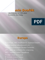Antonín Dvořák ppt