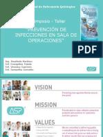 Openning y Prevencion de Infecciones