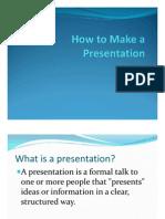 Presentation in English
