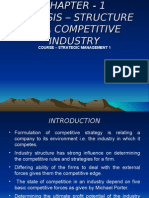 Structure of a Competitive Industry