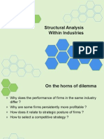 Structural Analysis Within Industries
