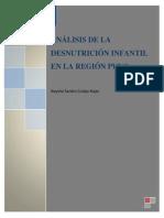 ANÁLISIS DE LA DESNUTRICIÓN INFANTIL EN LA REGIÓN PUNO