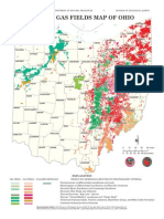 ODNR Map Gas and Oil in OHio