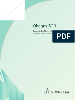 ABAQUS EXAMPLE MANUAL 2 pdf | Tire | Rotation Around A Fixed Axis