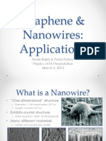 Graphene and Nanowires--Petar Petrov and Kevin Babb.ppt