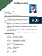 Saravanan Resume