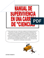 Manual Supervivencia en Una Carrera de Ciencias