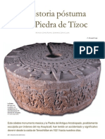 La Historia Postuma de La Piedra de Tizoc