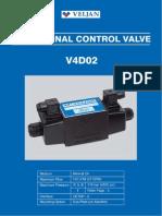 Hydraulic Valve Aljan Ake 4D02_Catalogue
