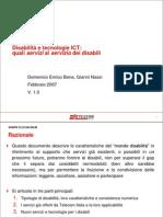 Disabilità e tecnologie ICT v1.0
